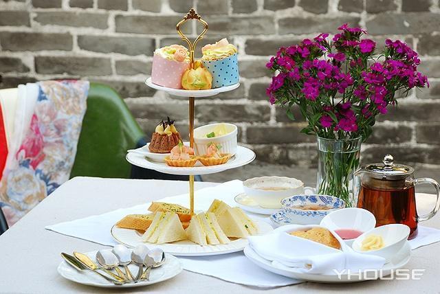 传统英式下午茶(含指定茶),建议2-3人使用,提供免费WiFi