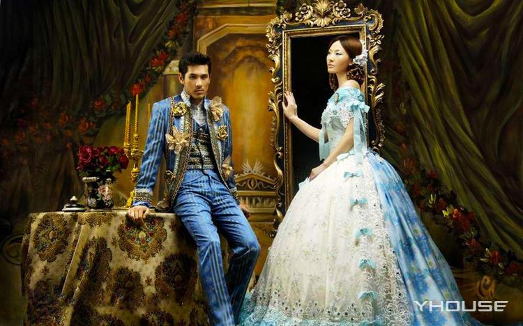 婚礼主题油画定制 独一无二的梦幻爱情