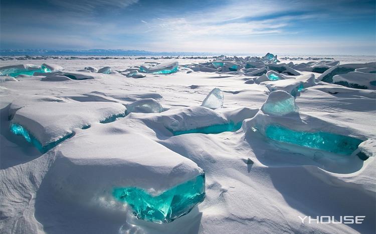 在最美的季节去最合适的地方 蓝冰已经上线了 贝加尔湖七日游