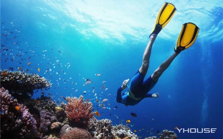 菲律宾PG岛潜水课程 实弹射击体验 五日游