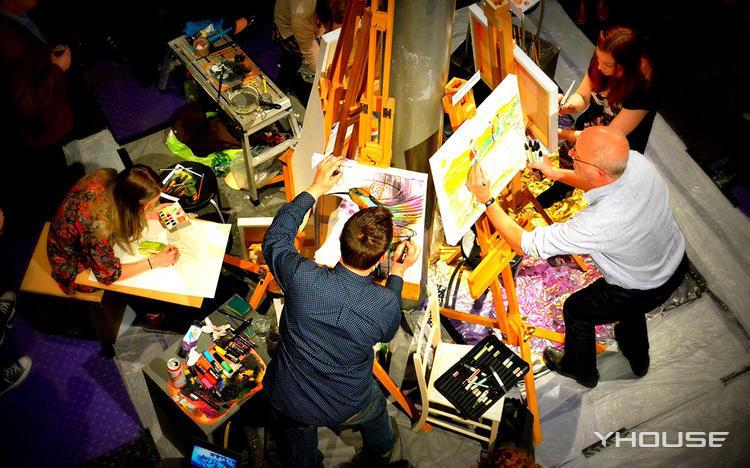 刷爆朋友圈的超值DIY油画体验