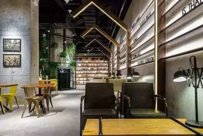 集合了书,咖啡,创意市集,主题餐厅