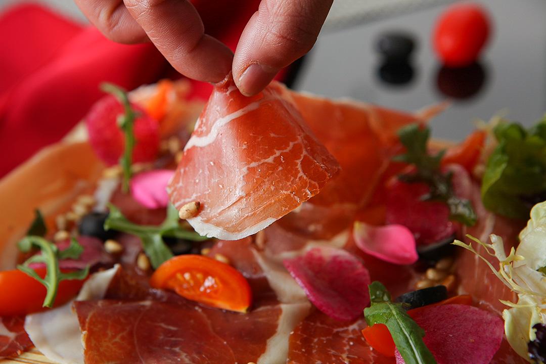 el olivar橄榄树西班牙餐厅酒吧◇ 半分西班牙伊比利亚火腿 西班牙