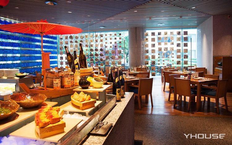 青岛香格里拉大酒店一品堂自助餐厅
