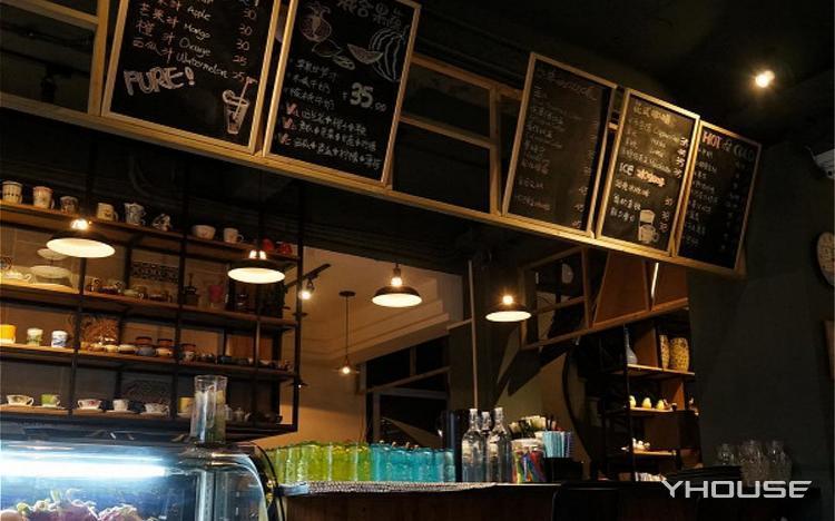 黑咖啡豆咖啡客栈