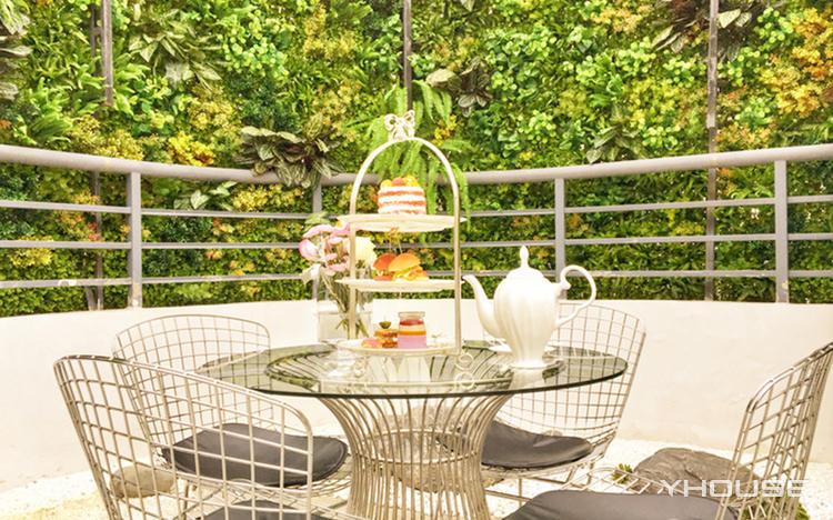 妖精盒子顶层观景花园下午茶