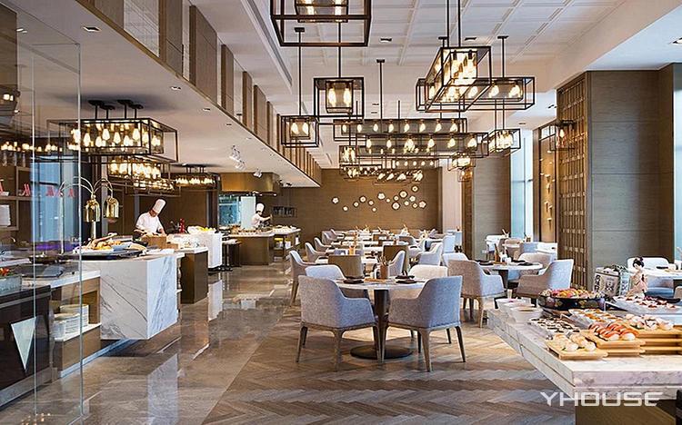 重庆万豪酒店自助西餐厅