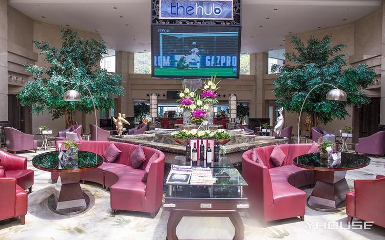 The Hub Lobby Lounge(翡翠皇冠假日酒店)