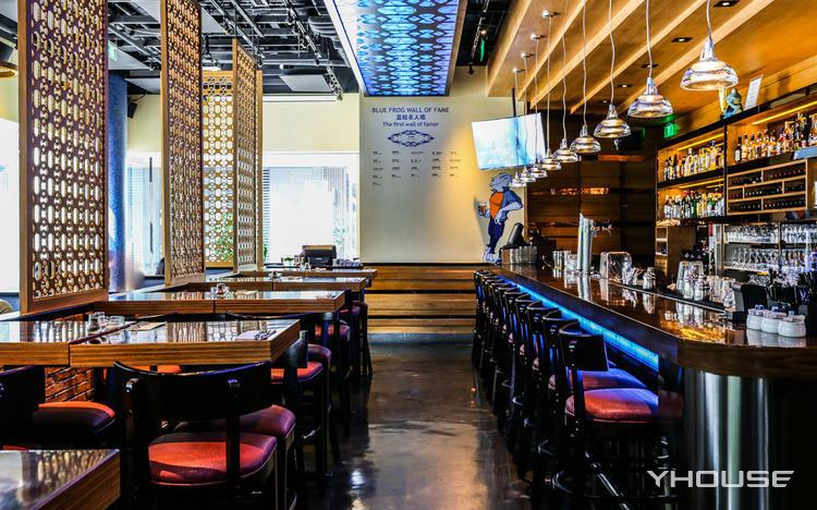 蓝蛙西餐厅酒吧